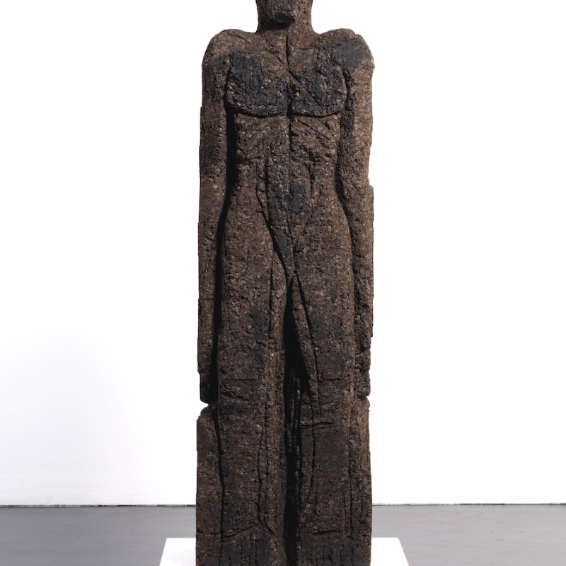<span class=&#34;artist&#34;><strong>Huma Bhabha</strong></span>, <span class=&#34;title&#34;>Untitled, 2010</span>