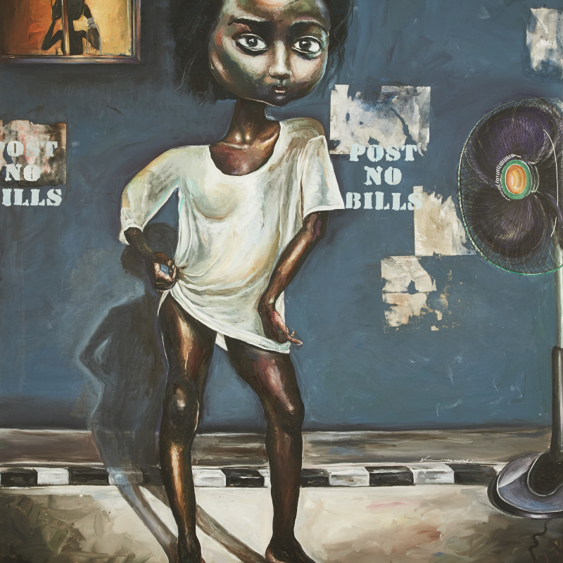 <span class=&#34;artist&#34;><strong>Ndidi Emefiele</strong></span>, <span class=&#34;title&#34;><em>Breeze</em>, 2017</span>