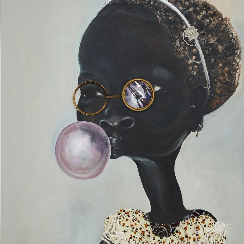 <span class=&#34;artist&#34;><strong>Ndidi Emefiele</strong></span>, <span class=&#34;title&#34;><em>Sunday bubbles 2</em>, 2017</span>