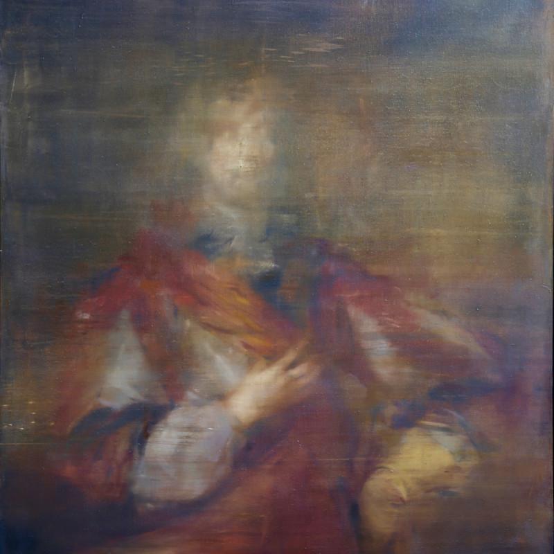 Jake Wood-Evans, Portrait of John Balasyse, after Anthony van Dyck, 2017
