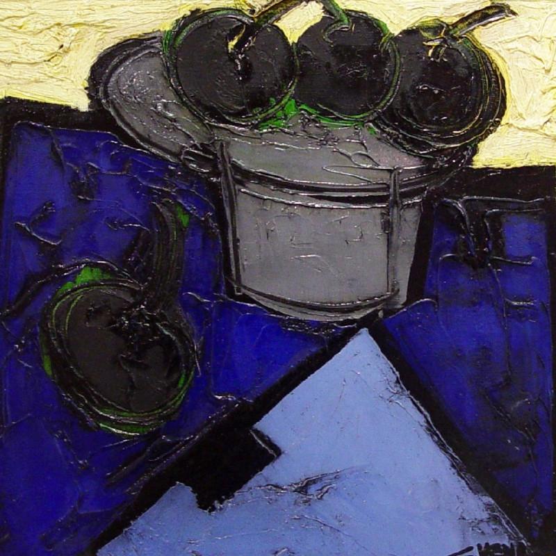 Claude Venard, Wild Cherries, 1971