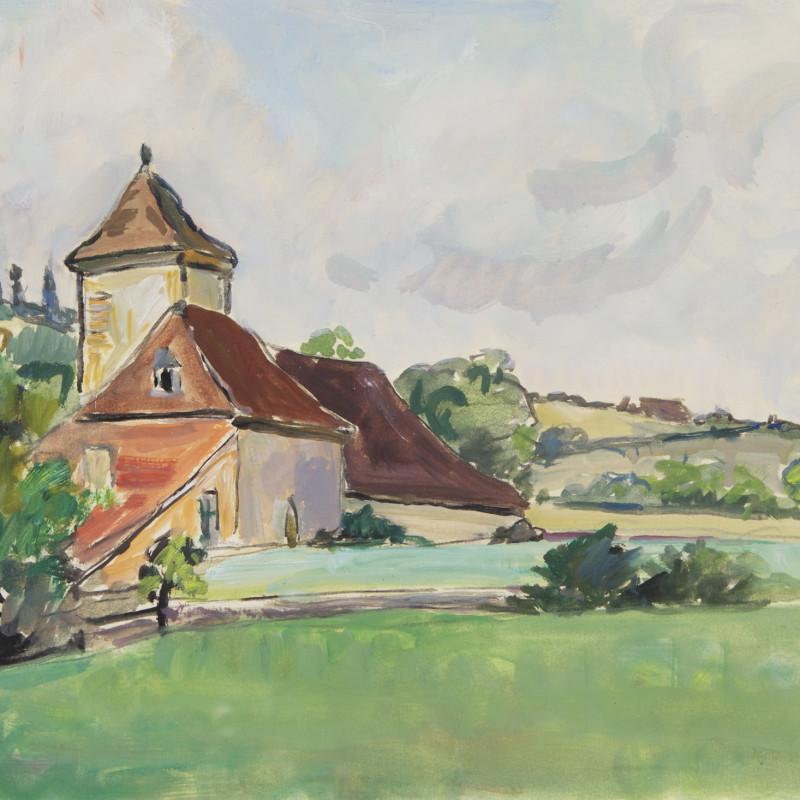 Mildred Bendall, The Farmhouse, Lot et Garonne, c. 1935