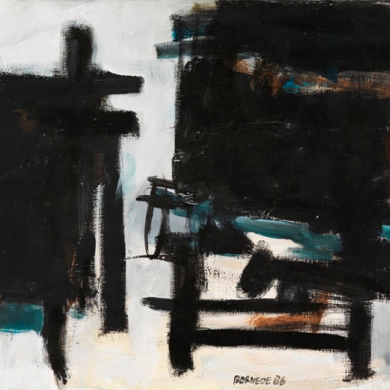 Georges Bernède, C011 - Composition 86, 1986