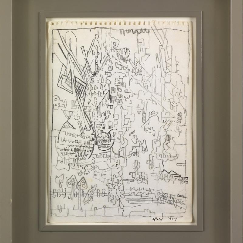 Sir Eduardo Paolozzi, RA, Metamorphosis of Comic Images, 1969