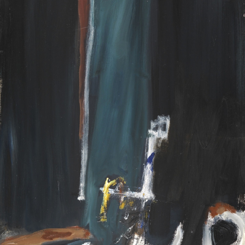 Georges Bernède, C048 - Composition 89, 1989