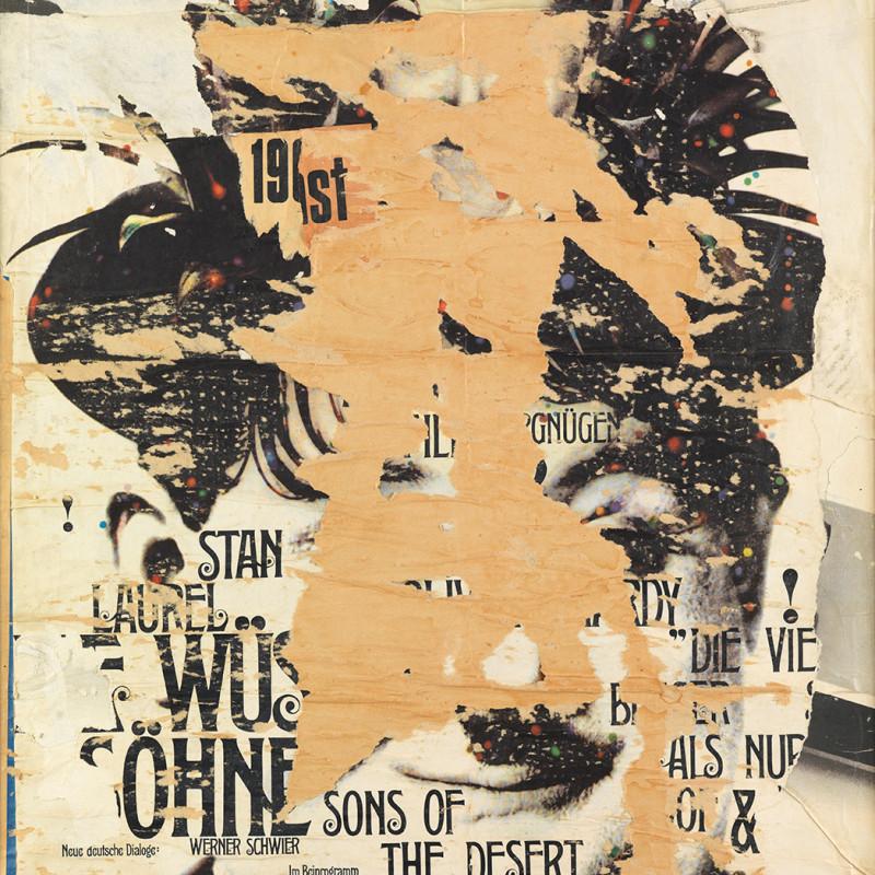 Reinhold Koehler, Plakat-Décollage 'Stan', 1965
