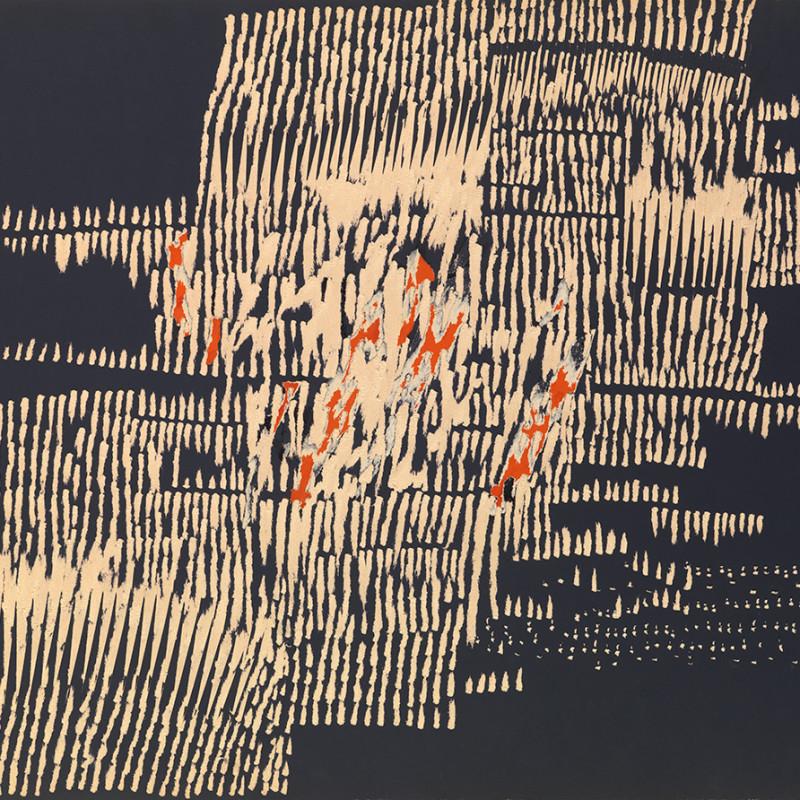Reinhold Koehler, Décollage Pur, 1961