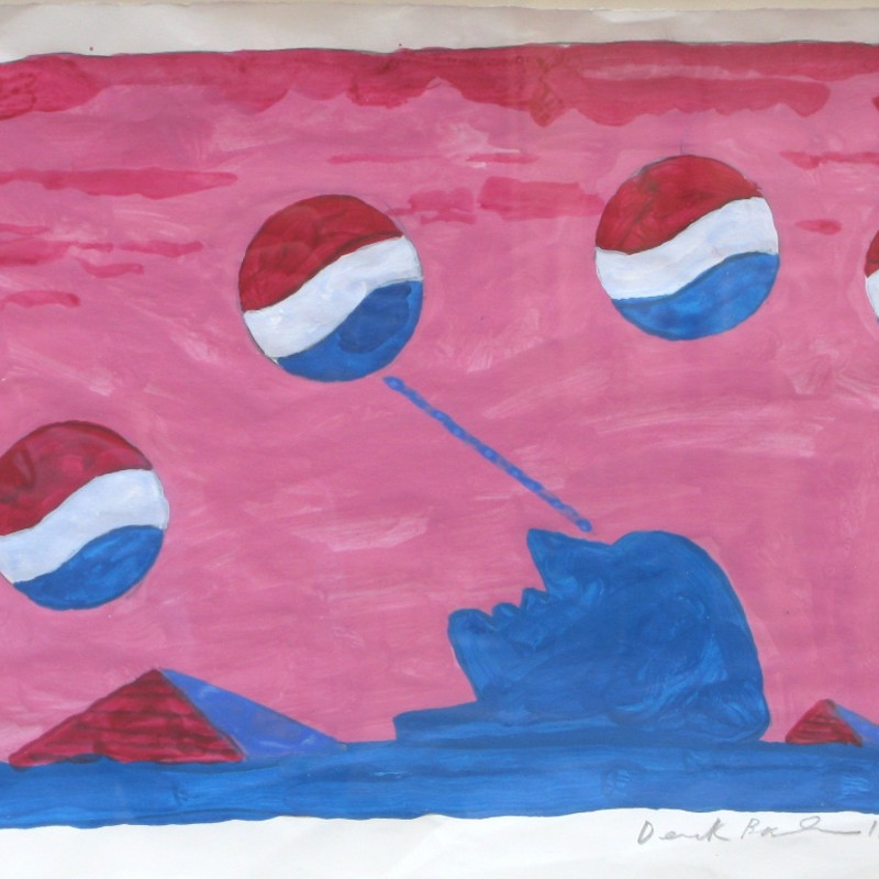 Derek Boshier, Pepsi Dreaming, 1962