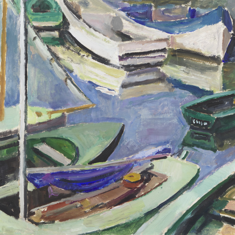 Mildred Bendall, Barques, c. 1935