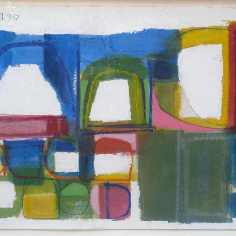 James Hull, Composition 1990.III (2), 1990