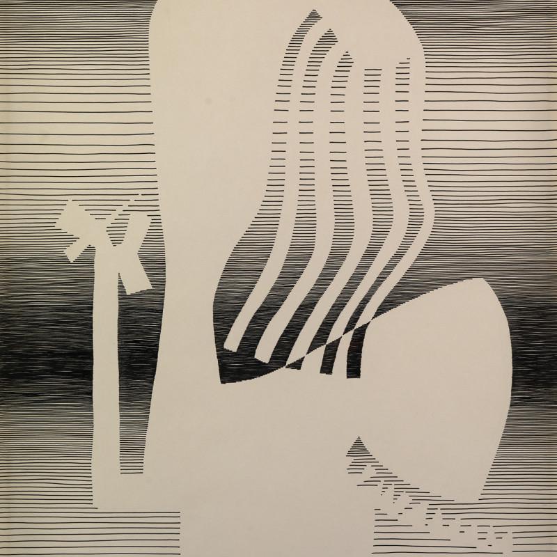 Michel Seuphor, Femme à sa coiffure, 1959