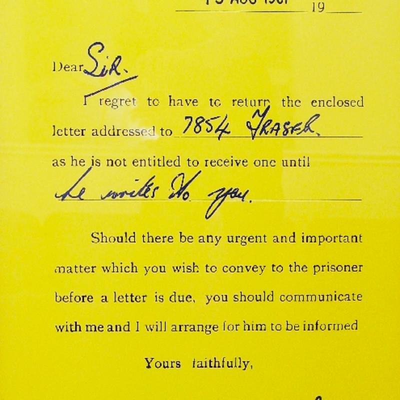 Clive Barker, 7854 Fraser, 1971