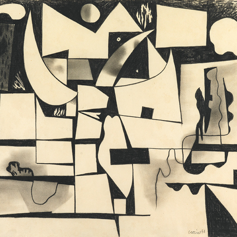 Caziel, WC075 - Nocturne, 1951