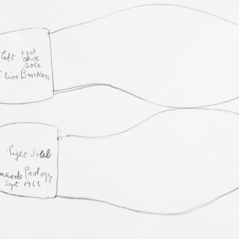 Sir Eduardo Paolozzi, RA, My Shoe Soles, 1966