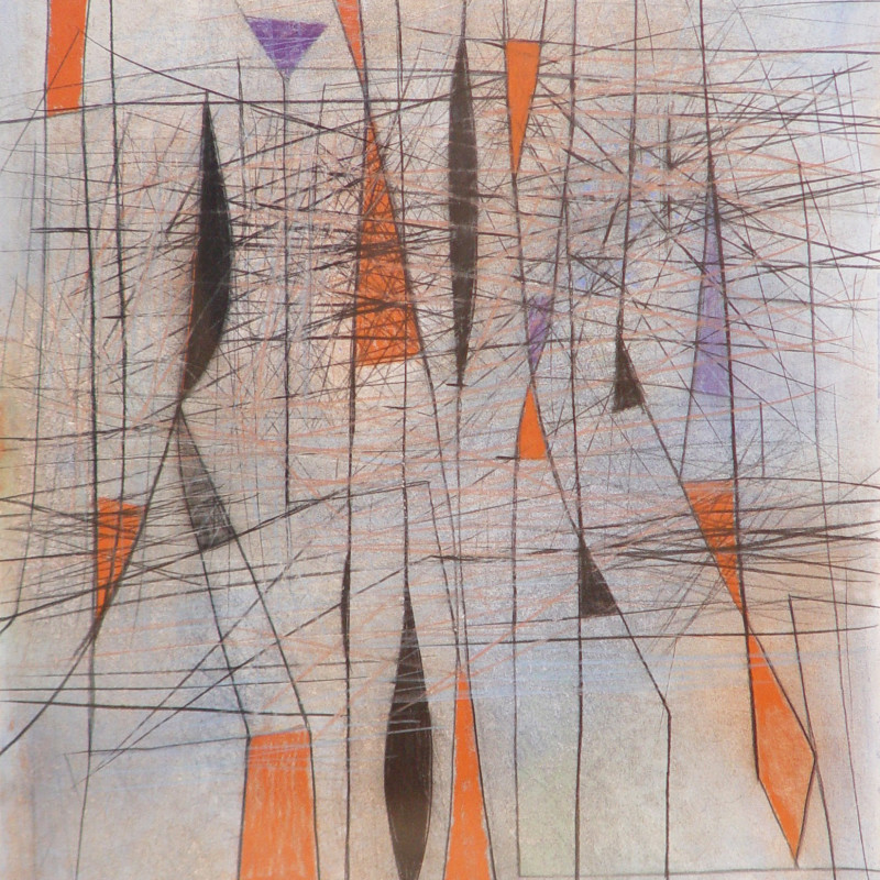 Caziel, WC509 - Composition 03.1965, 1965
