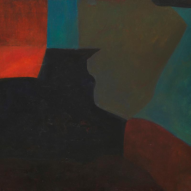 Joseph Lacasse, Composition ( Dia no. 492), c. 1960