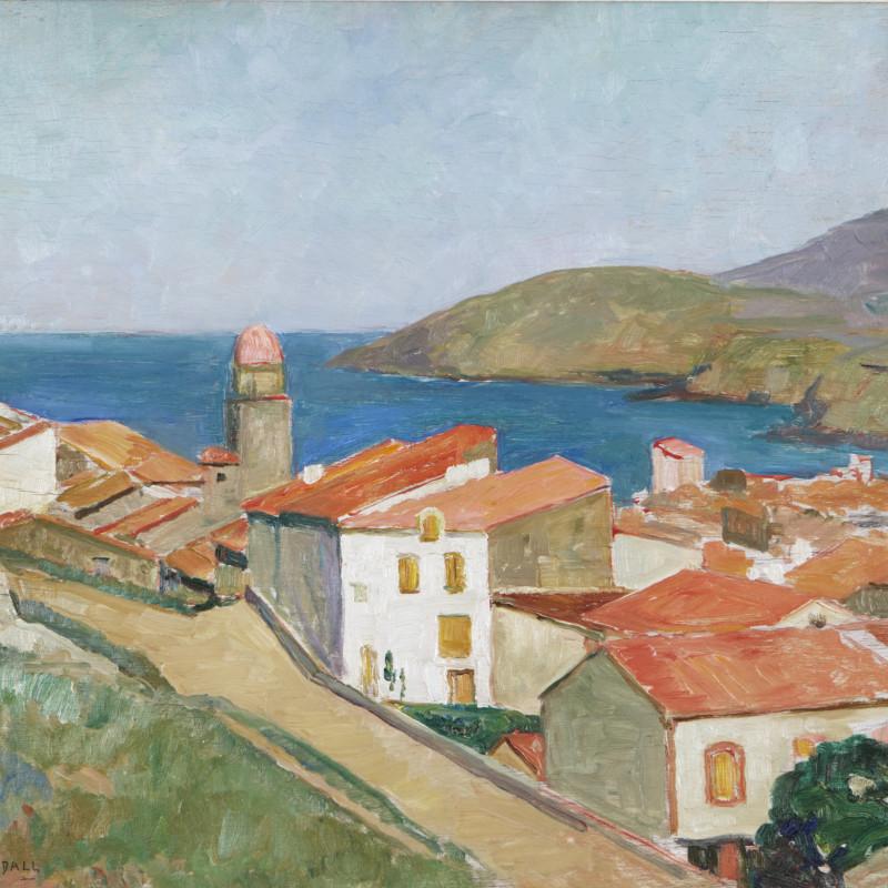 Mildred Bendall, Vue de Collioure, c. 1928