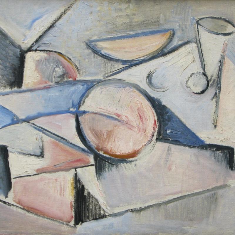 Caziel, WC570 - Reclining Nude, c. 1949
