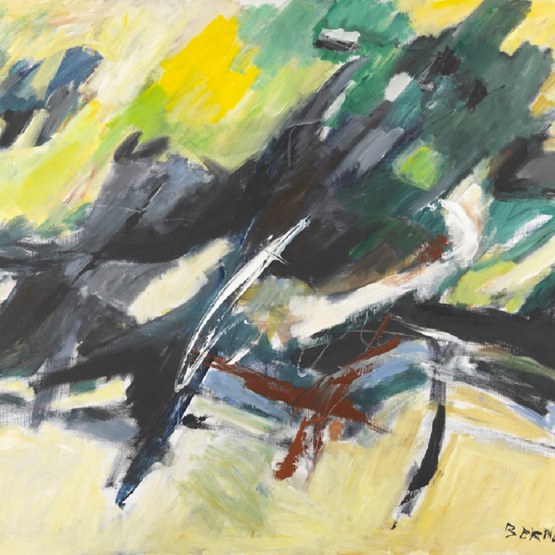 Georges Bernède, C032 - Composition 83-3 - Ombre et Lumière Paysage, 1983