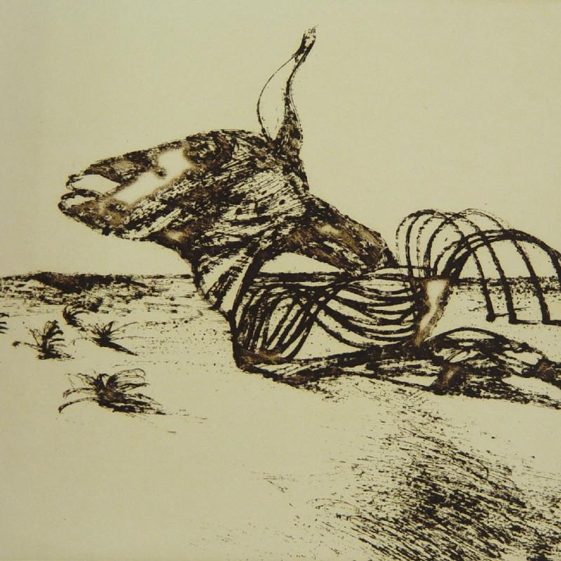 Sidney Nolan, Carcass, c. 1971