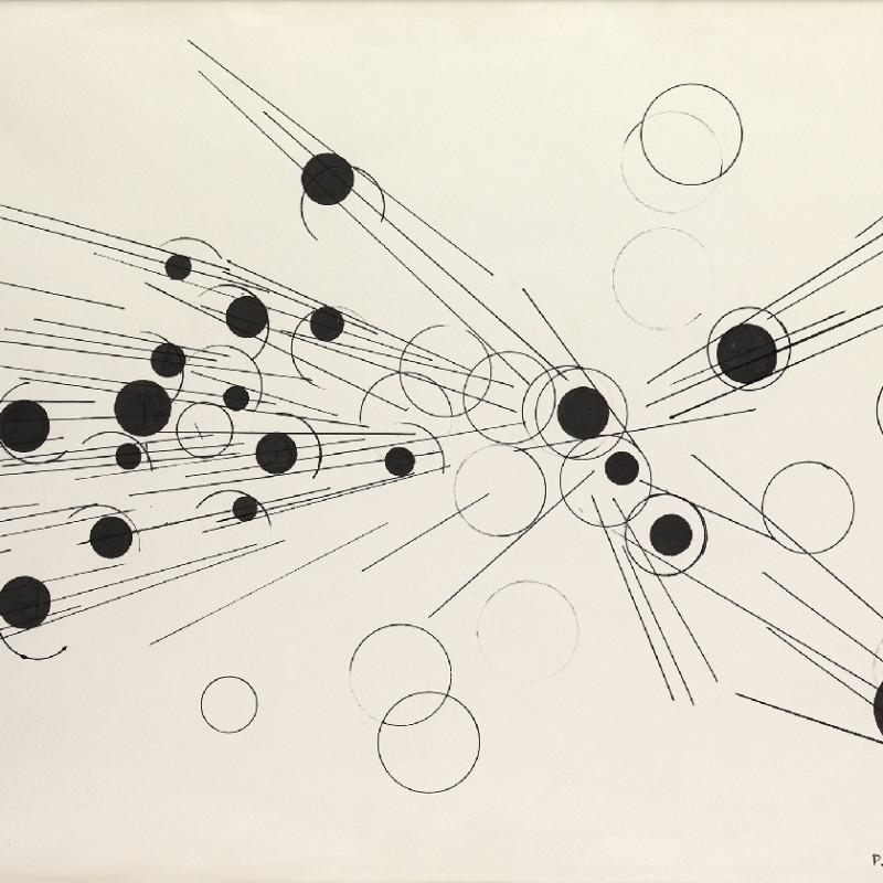 Paul Van Hoeydonck, PVH122 - Composition, 1958