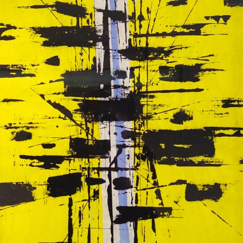 John Milnes-Smith, Yellow Composition, 1954