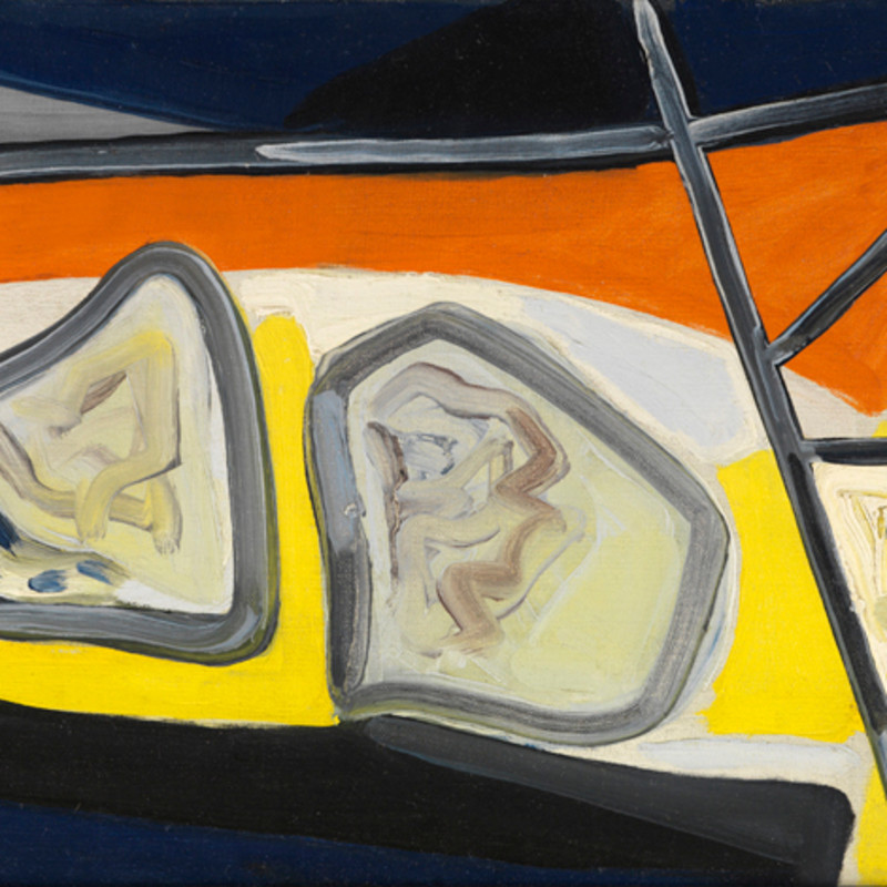 """Caziel, WC204 - Composition """"Cobra"""", c. 1948"""