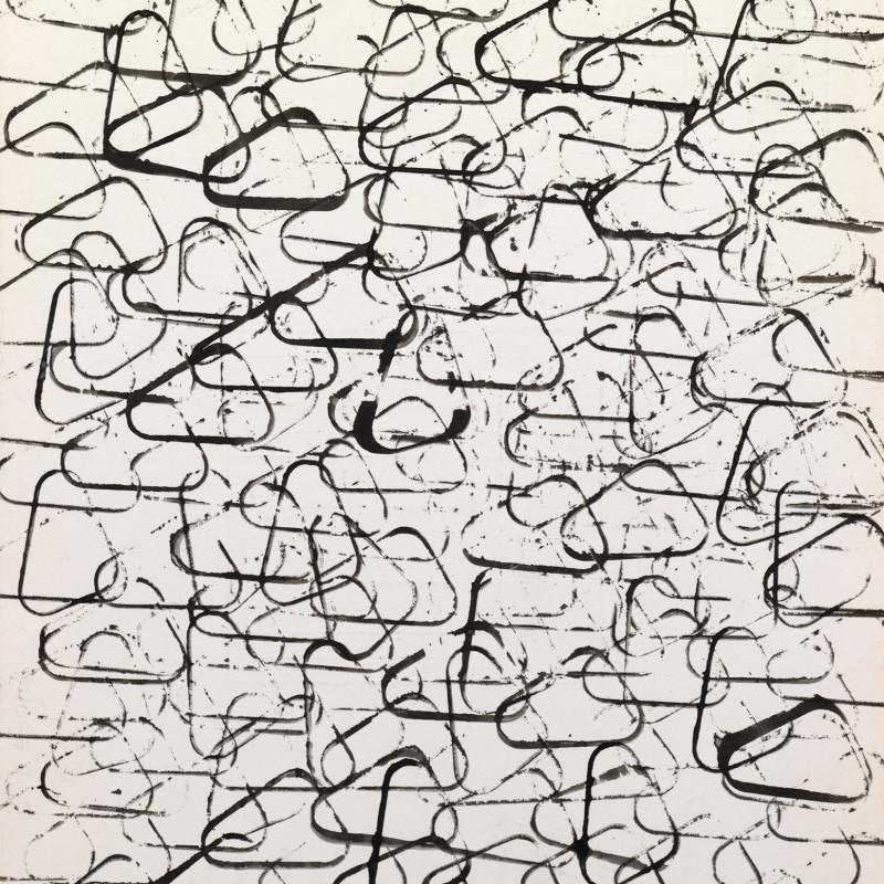 Paul Van Hoeydonck, PVH123 - Composition, 1960