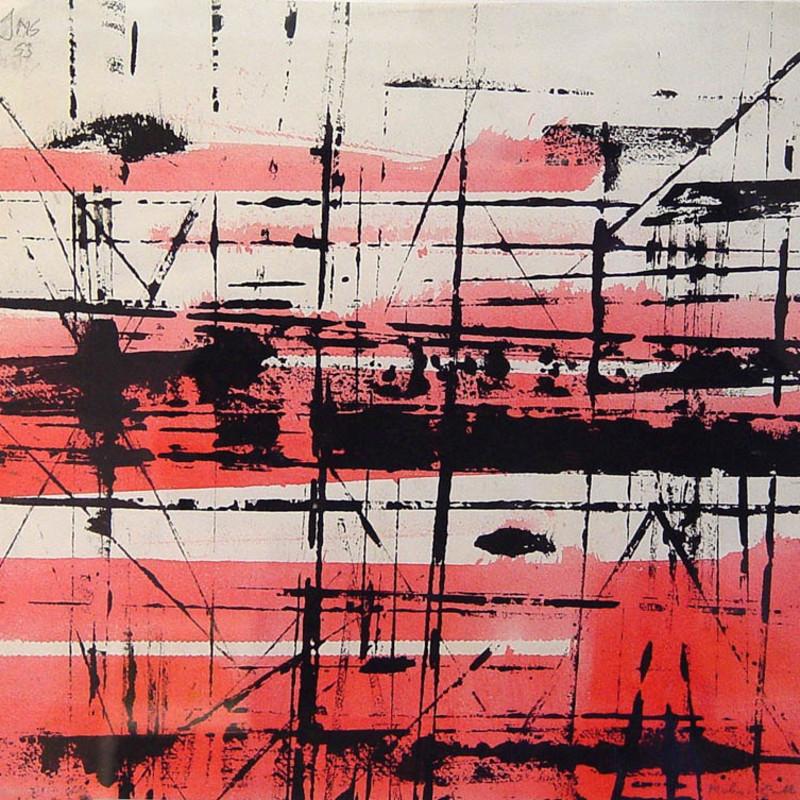 John Milnes-Smith, Red Composition, 1953
