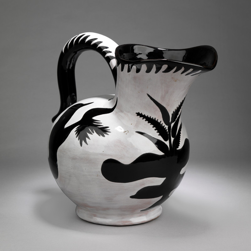 Jean Lurçat, Pichet - White & Black - Reflections, c. 1955