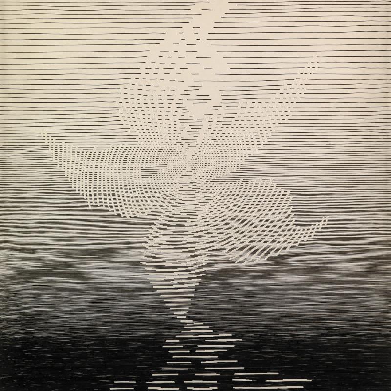 Michel Seuphor, La fleur des sommets III, 1965