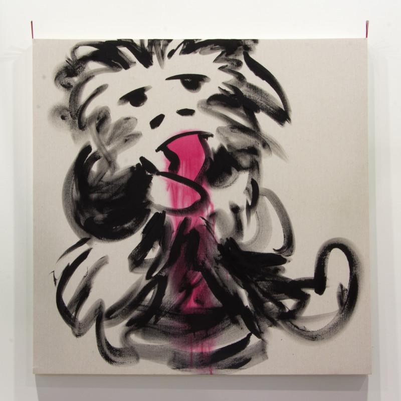 <span class=&#34;artist&#34;><strong>Joel Kyack</strong></span>, <span class=&#34;title&#34;><em>Primitive Man Eating Foot</em>, 2016</span>