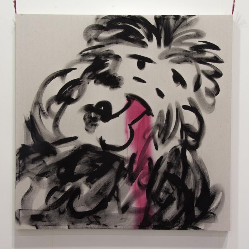 <span class=&#34;artist&#34;><strong>Joel Kyack</strong></span>, <span class=&#34;title&#34;><em>Primitive Man Eating Dick</em>, 2016</span>