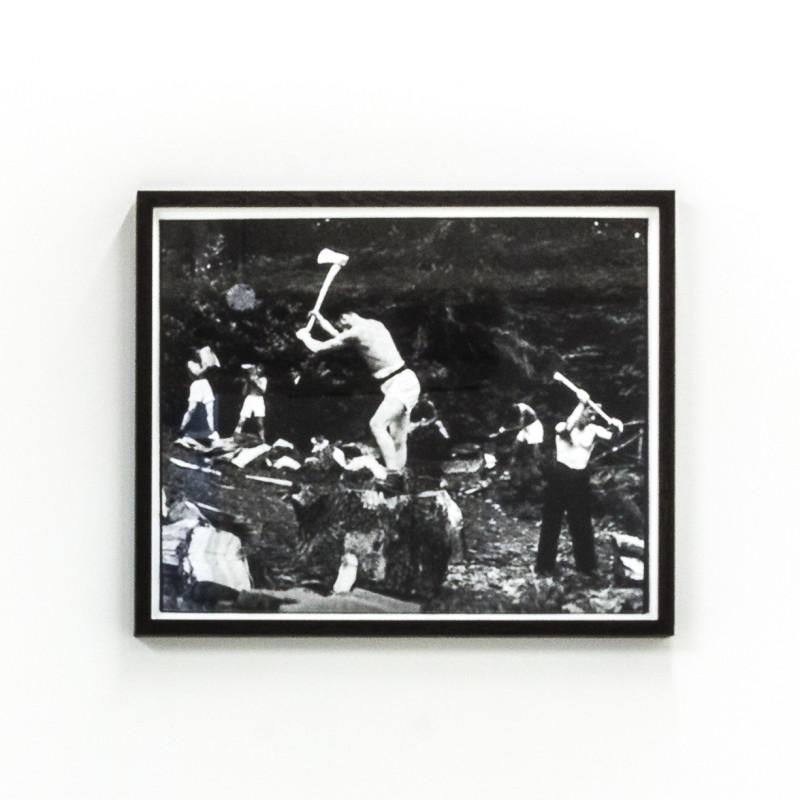 <span class=&#34;artist&#34;><strong>Matt Stokes</strong></span>, <span class=&#34;title&#34;><em>Stone Frigate (Woodcutting)  </em>, 2017</span>