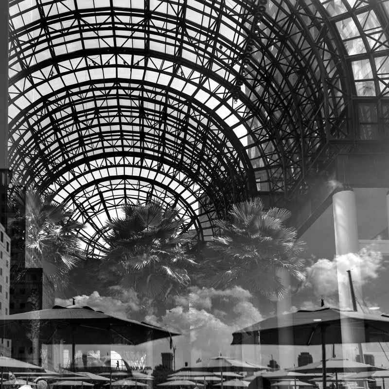 Matthew Pillsbury - REFLECTION, REFLECTION, BROOKFIELD PLAZA, NEW YORK