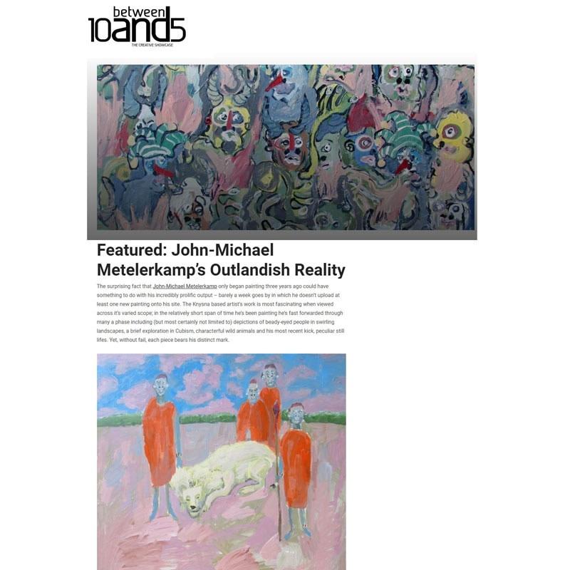 Featured: John-Michael Metelerkamp's Outlandish Reality