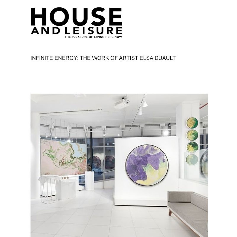 Infinite energy: the work of artist Elsa Duault