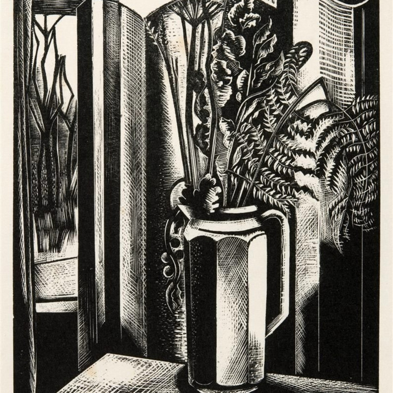THE CUT IMAGE - MODERN BRITISH WOOD ENGRAVINGS, WOODCUTS AND LINOCUTS