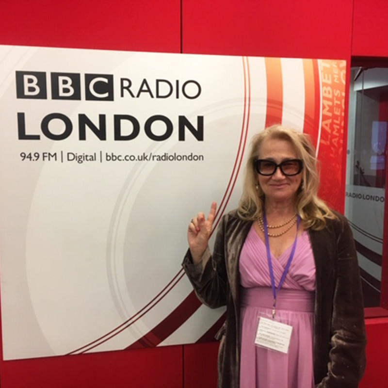 Director Cynthia Corbett interviewed on BBC Radio London