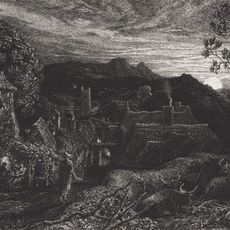 Samuel Palmer, The Bellman, 1879