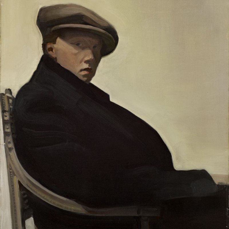 William Oliphant Hutchison, 1889-1970. Self Portrait, 30 x 25 inches