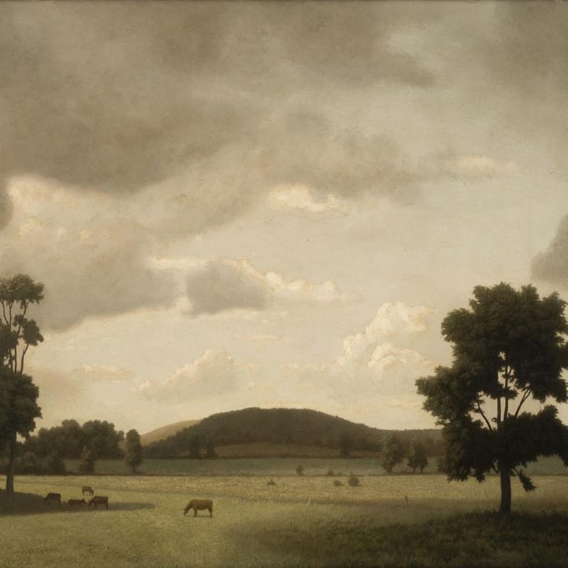Algernon Cecil Newton, In Chilham Valley, 1955 (detail)
