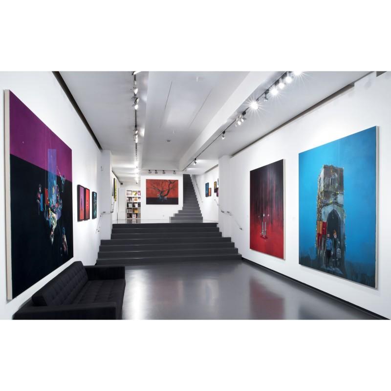 Installation view of Bartholomew Beal exhibition, January 2016
