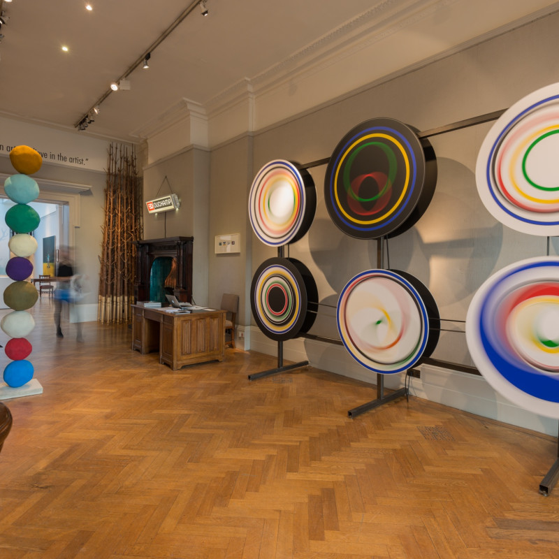 """Installation view, """"What Marcel Duchamp Taught Me', The Fine Art Society, Gallery 2, October 2014"""