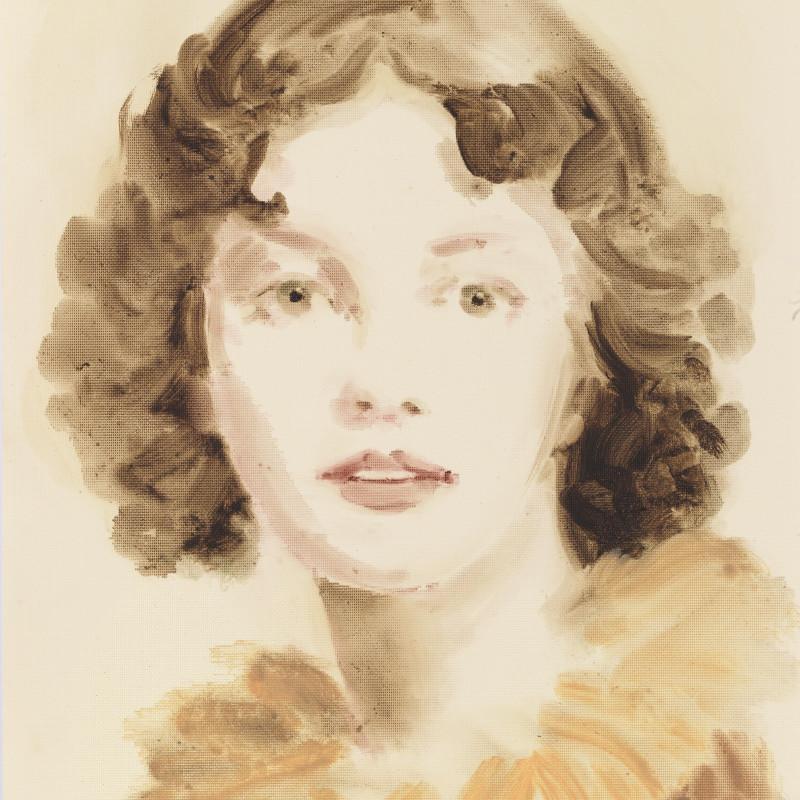 Annie Kevans, Louise Élisabeth Vigée Le Brun, 2013 (detail). Oil on paper, 40 x 30 cm