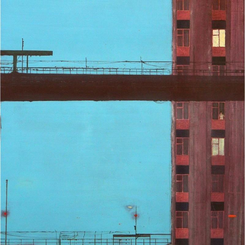 Jock Mcfadden, Cable Street, 2011. Oil on canvas, 146 x 122 cm