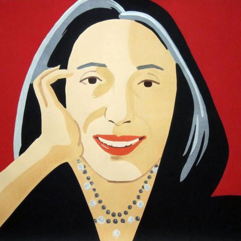 Alex Katz and the Japanese Print