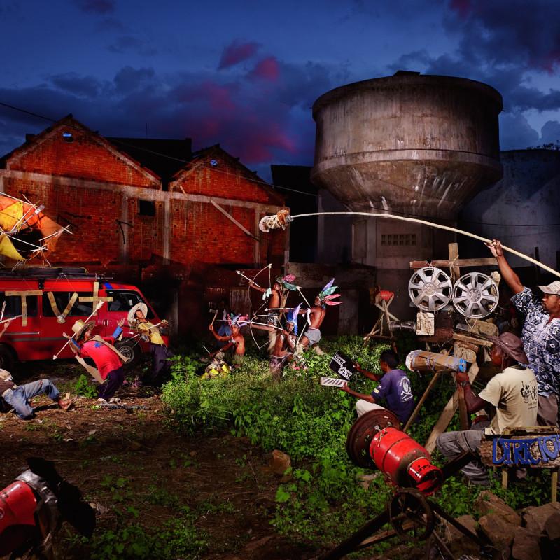 NICOLAS HENRY, LES INDIENS ET LES COWBOYS / THE INDIANS AND THE COWBOYS, 2012