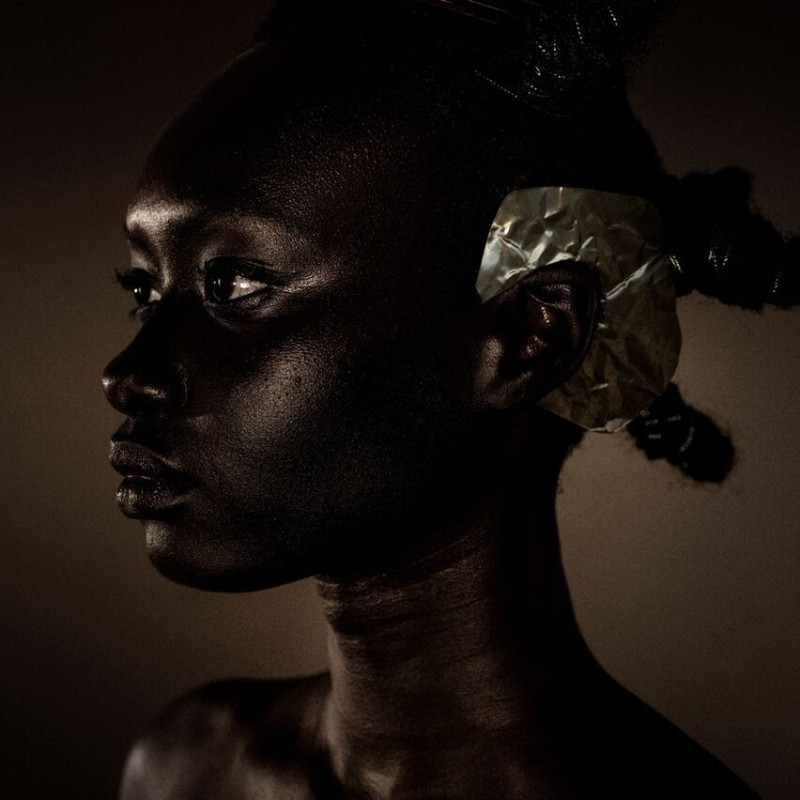 DJENEBA ADUAYOM, BLACK GOLD #2, 2018