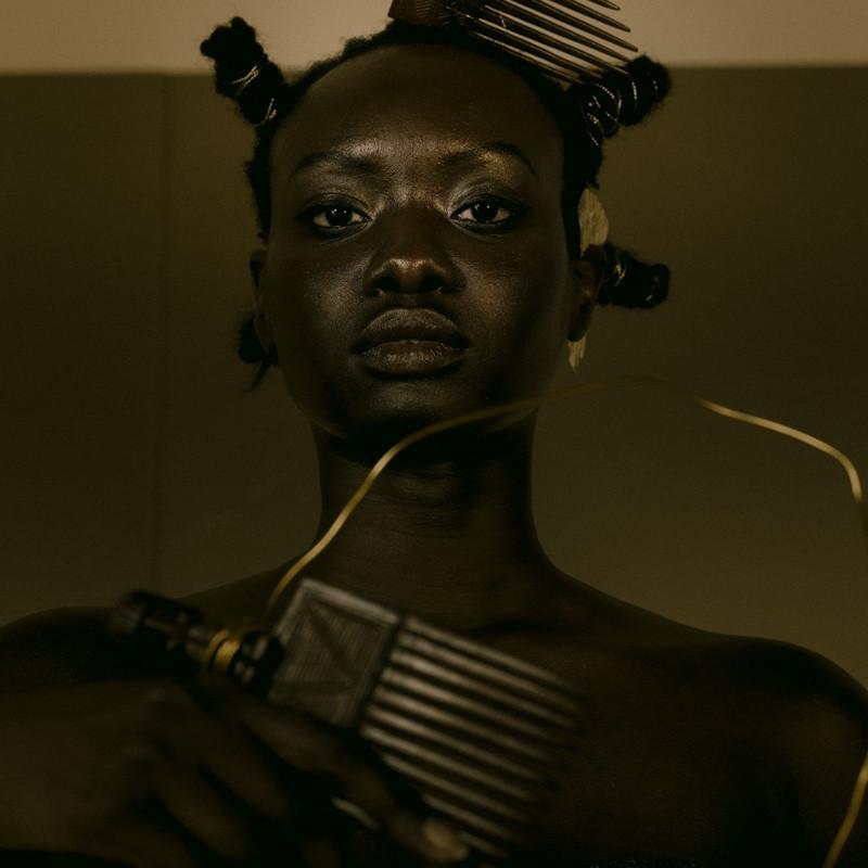 DJENEBA ADUAYOM, BLACK GOLD #7, 2018